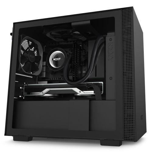 NZXT H210 Matte Black Mini-ITX Tower Case